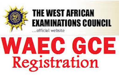 WAEC GCE Registration Card